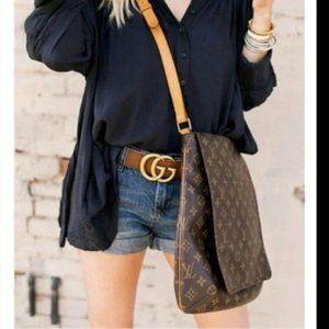 Louis Vuitton Shoulder Bag Musette salsa